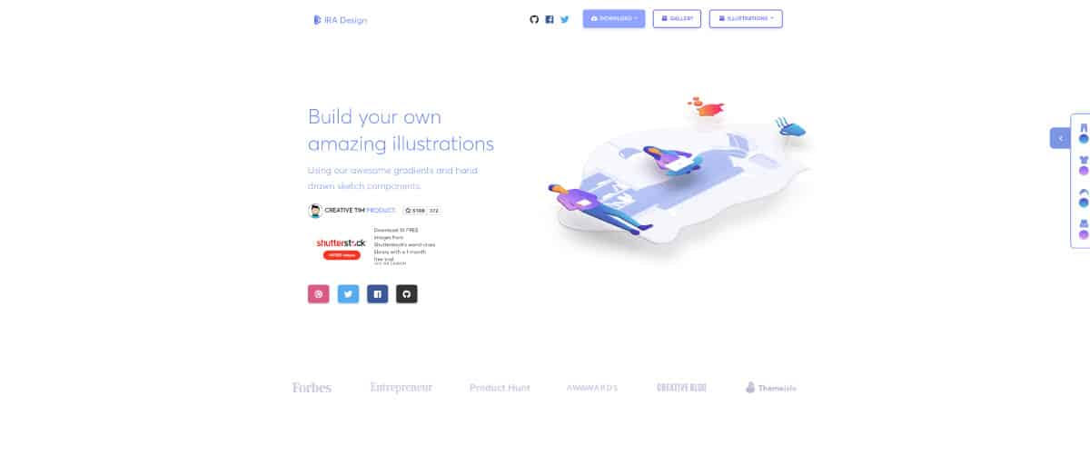 iradesign - website for best illustrations