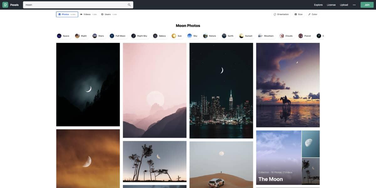 pexels.com - website for best free stock photos