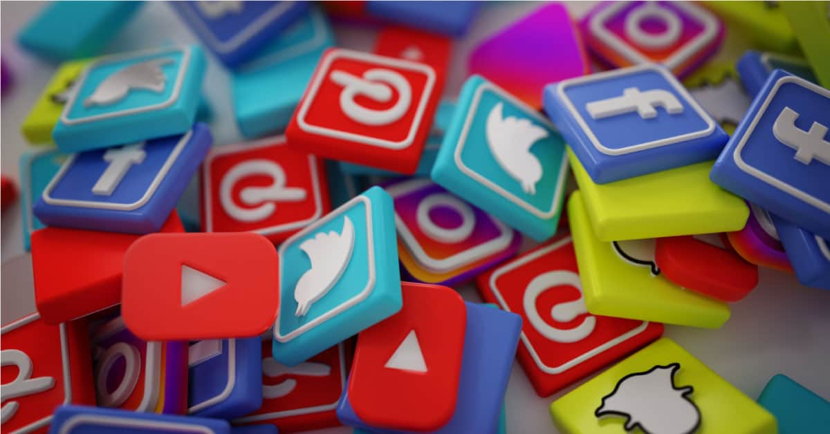Share on social media platforms