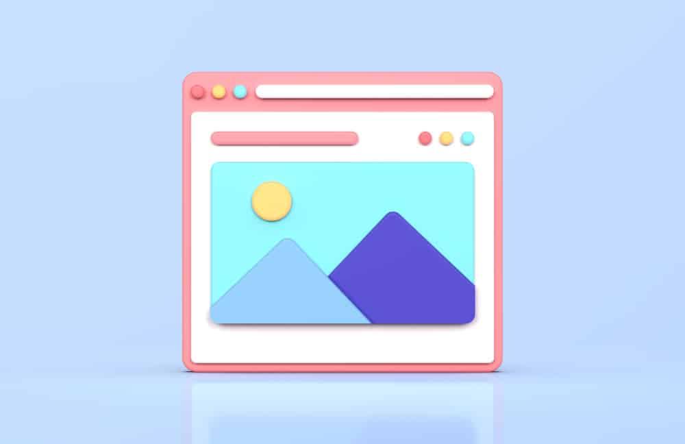 web interface 3d rendering